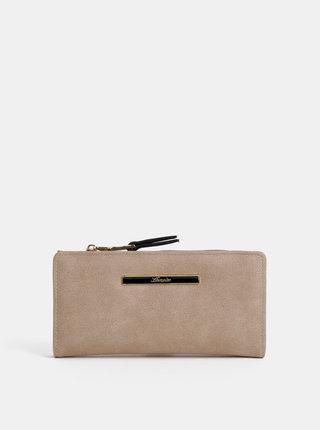Béžová peňaženka Hampton
