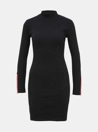 Čierne púzdrové šaty TALLY WEiJL