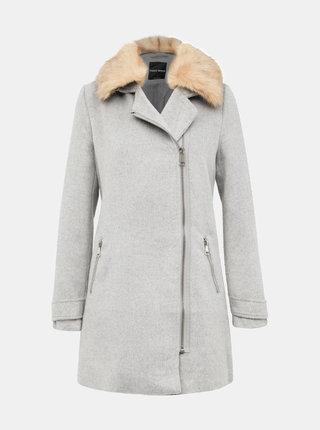 Světle šedý kabát TALLY WEiJL