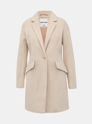 Béžový kabát TALLY WEiJL