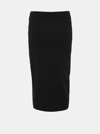 Čierna púzdrová midi sukňa Dorothy Perkins