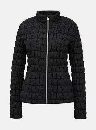 Čierna dámska prešívaná vodeodolná bunda SAM 73