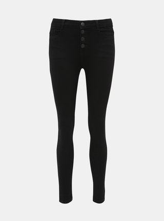 Čierne skinny fit rifle Dorothy Perkins Shape & Lift
