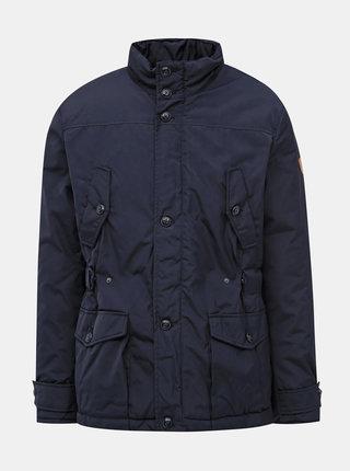 Tmavě modrá pánská voděodolná zimní bunda SAM 73