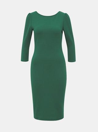 Zelené pouzdrové šaty Dorothy Perkins