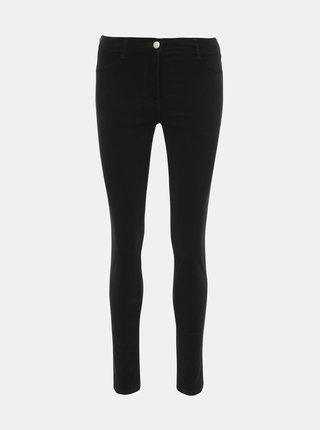 Čierne menčestrové nohavice Dorothy Perkins