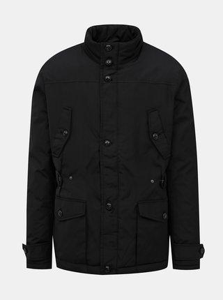 Čierna pánska vodeodolná zimná bunda SAM 73
