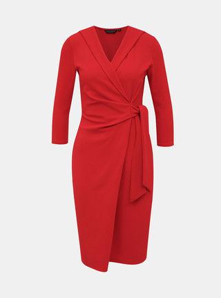 Červené šaty Dorothy Perkins