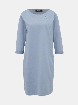 Svetlomodré mikinové šaty ZOOT Hana