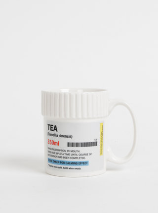 Cana alba cu text Gift Republic Tea