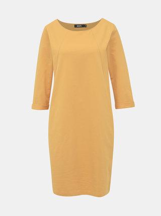 Žluté mikinové šaty ZOOT Hana