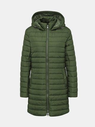 Zelený dámský prošívaný kabát ZOOT