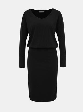 Černé pouzdrové šaty VILA Nico