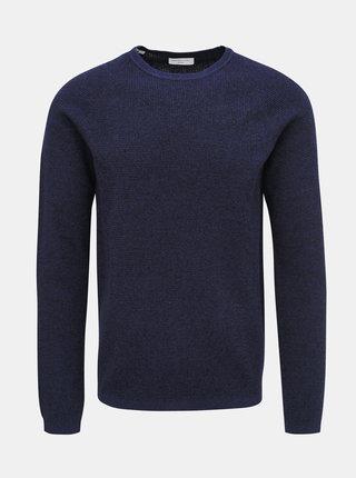 Tmavě modrý svetr Selected Homme Shane