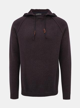 Fialový sveter Jack & Jones Fred