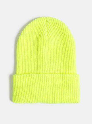 Neonovo žltá dámska čapica Haily´s Casy