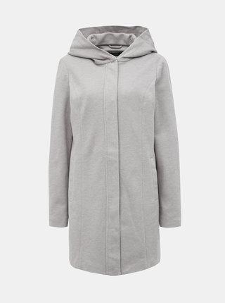 Svetlošedý kabát VERO MODA