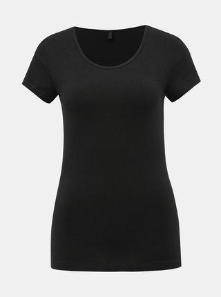 Černé basic tričko ONLY Live Love