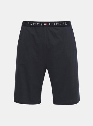 Tmavomodré pánske pyžamové kraťasy Tommy Hilfiger