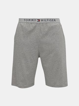 Šedé pánske pyžamové kraťasy Tommy Hilfiger
