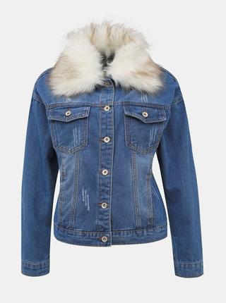 Modrá dámska rifľová bunda Haily´s Maxie