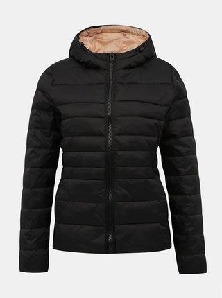 Černá dámská prošívaná zimní bunda Haily´s Dora