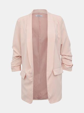 Světle růžové dámské sako Haily´s Livia