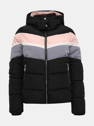 Černá dámská prošívaná zimní bunda Haily´s Vera