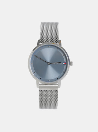 Dámske hodinky s nerezovým remienkom v striebornej Tommy Hilfiger