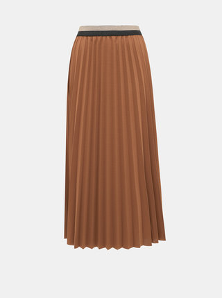 Hnědá maxi sukně Haily´s Anaya