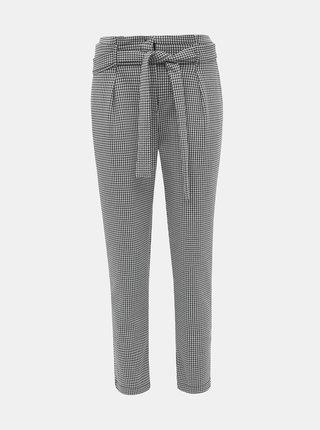 Šedé dámské kostkované zkrácené kalhoty Haily´s Geo
