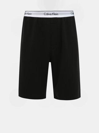 Černé pánské teplákové kraťasy Calvin Klein Underwear