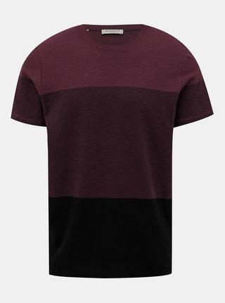 Vínové tričko Selected Homme Kevin