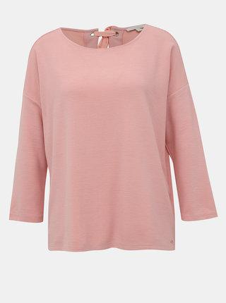 Rúžové dámske tričko Tom Tailor Denim