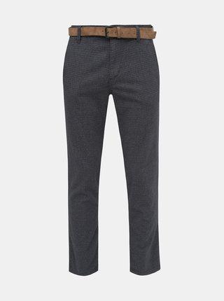 Tmavě modré pánské chino kalhoty Tom Tailor Denim