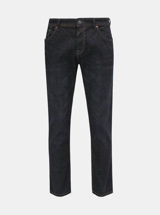 Tmavomodré pánske straight fit rifle Tom Tailor Denim