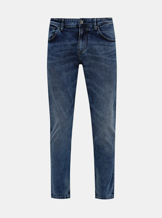 Modré pánske slim fit rifle Tom Tailor Denim