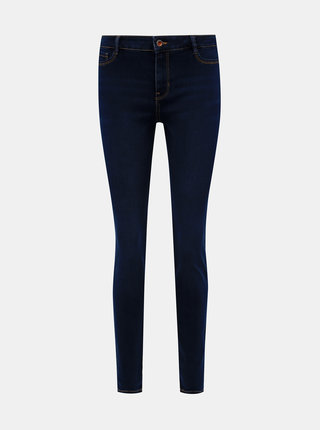 Modré dámske skinny fit rifle Tom Tailor Denim