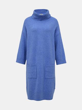 Svetlomodré svetrové šaty Tom Tailor