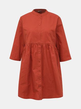 Teihlové košeľové šaty Jacqueline de Yong Ulle