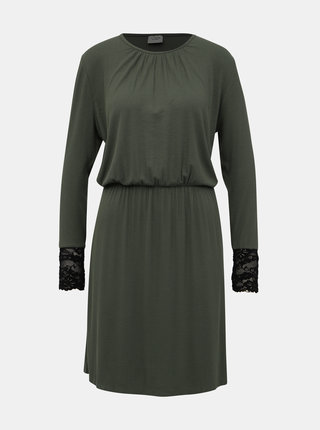 Zelené žebrované šaty Jacqueline de Yong Molly