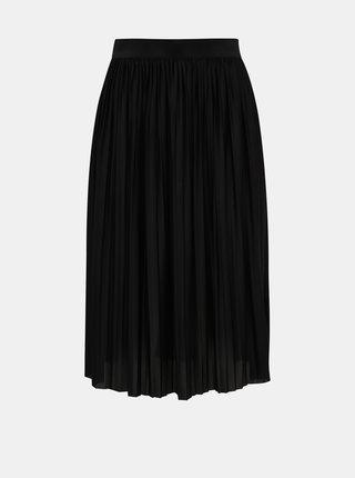 Čierna plisovaná sukňa Jacqueline de Yong Aboa