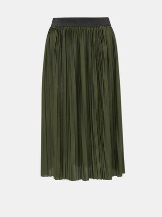 Zelená plisovaná sukňa Jacqueline de Yong Aboa