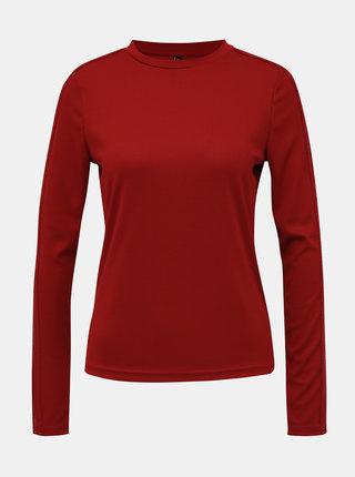 Červené tričko s krajkovými detaily ONLY Rio