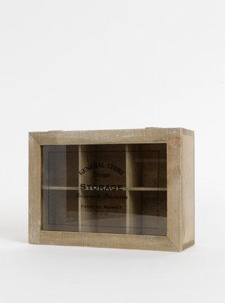 Dřevěná krabička na čaj SIFCON
