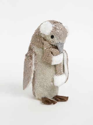 Vianočná dekorácia v tvare tučniaka SIFCON