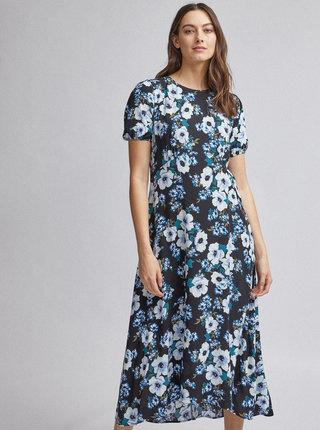 Černé květované maxi šaty Dorothy Perkins