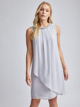 Světle šedé šaty Billie & Blossom