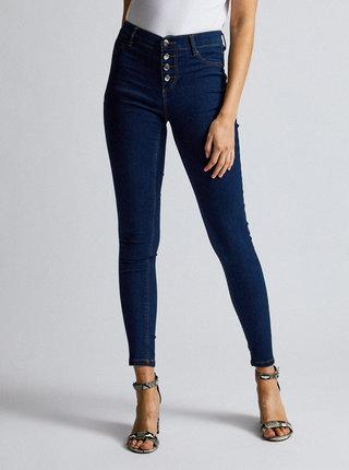 Modré skinny fit džíny Dorothy Perkins Frankie