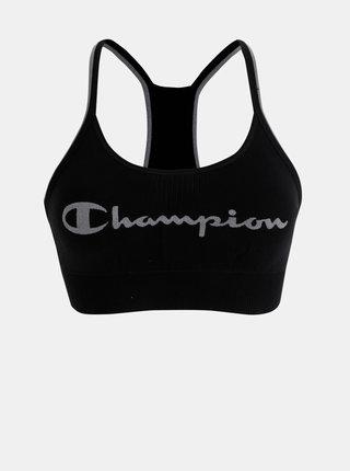 Černá sportovní podprsenka Champion